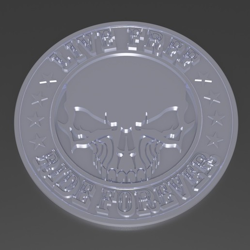 Download 3D model live free emblem, rodrigo11o11