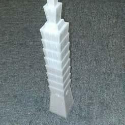 Descargar Modelos 3D para imprimir gratis Taipei 101 25cm Modelo 3D, Ghashrod