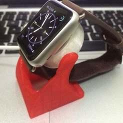IMG_2320_display_large.jpg Download free STL file apple watch ring support • 3D print template, Ghashrod