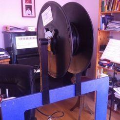 Télécharger fichier imprimante 3D gratuit Support deillament pour Prusa I3, Ghashrod