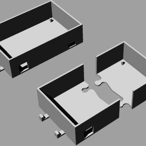 case_display_large.jpg Télécharger fichier STL gratuit Printrbot Boîtier électronique • Modèle pour imprimante 3D, Ghashrod