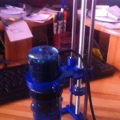 Download free STL Microscope mount, Ghashrod