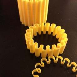 Download free 3D printer templates Flexible bracelet, Ghashrod