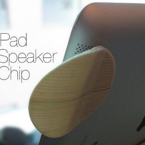 Télécharger modèle 3D gratuit Puce haut-parleur pour iPad, Ghashrod