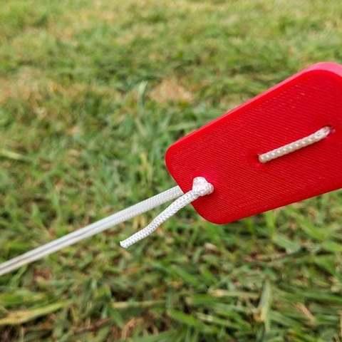 Download free 3D printer model Guy rope tensioner, Cerragh