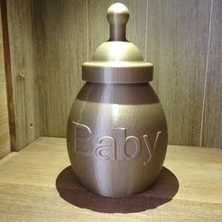 IMG_3168_display_large.jpg Download free STL file Money Box baby • 3D print object, Cerragh