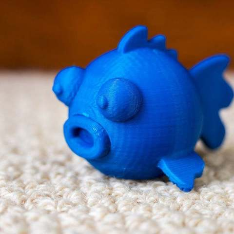 Download free 3D printing models Round Magnetic Fish, Cerragh