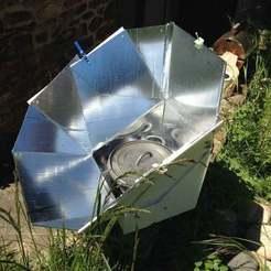 Download free STL Solar oven sun aligner, Cerragh