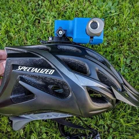 c0911fb607082407f801332f748fc2ad_display_large.jpg Download free STL file Zebralight H600w Mk II helmet Gopro mount / bracket • 3D printable model, Cerragh