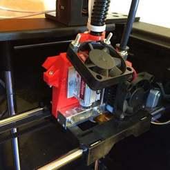 laser_carriage_display_large.jpg Download free STL file Jtech Flashforge Creator Pro mount • 3D print object, Cerragh