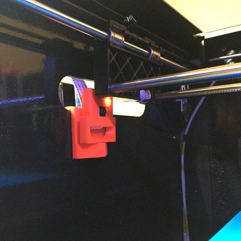 Télécharger modèle 3D gratuit Support d'appareil photo Raspberry Pi pour Flashforge Creator Pro, Cerragh