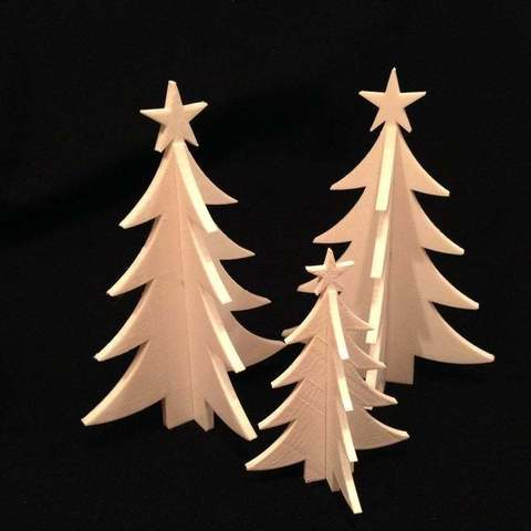 Download free 3D printer model Christmas Tree, Cerragh