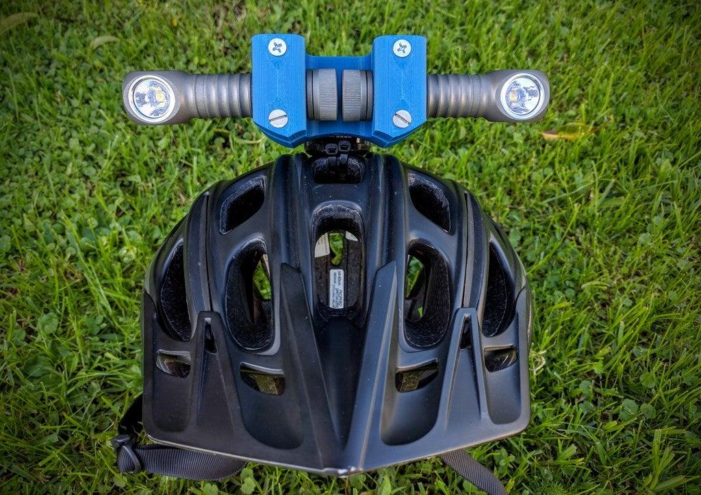 a2f1d5d099a977337489f8ee088e4096_display_large.jpg Download free STL file Zebralight H600w Mk II helmet Gopro mount / bracket • 3D printable model, Cerragh