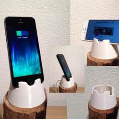 Descargar archivo 3D gratis Iphone 4, 4S, 5, 5, 5C y 5S dock / stand, Cerragh