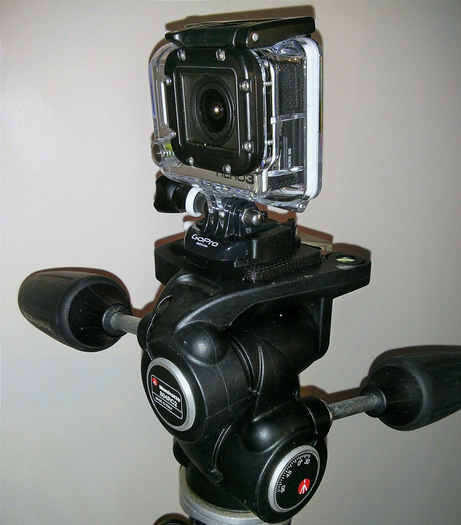IMG_20140110_213447_display_large.jpg Download free STL file Manfrotto RC2 quick release - GoPro Hero 3 adapter • 3D print design, Cerragh