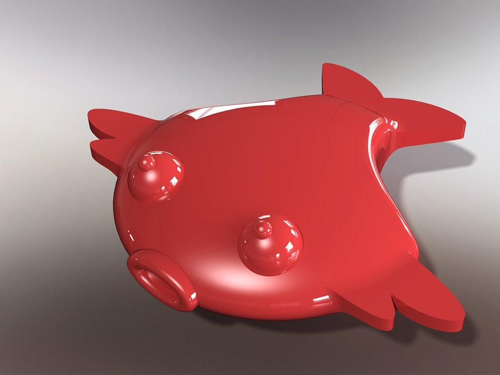 WybaluszSplaszczak_small_display_large.jpg Download free STL file Magnetic Flat Fish • 3D printing object, Cerragh
