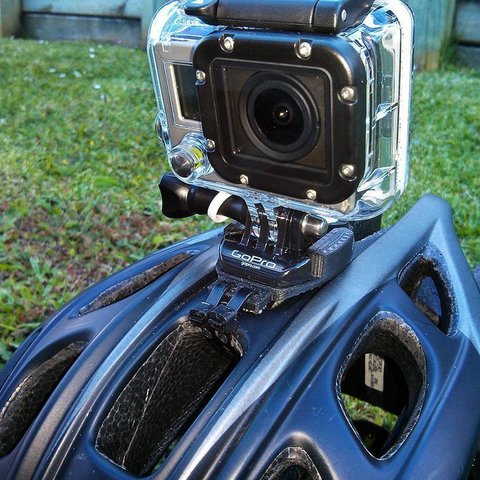 Download free 3D printing files Zip tie GoPro Curved Mount, Cerragh