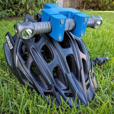 19405d19fa16e40dc8ceab709feb810a_display_large.jpg Download free STL file Zebralight H600w Mk II helmet Gopro mount / bracket • 3D printable model, Cerragh