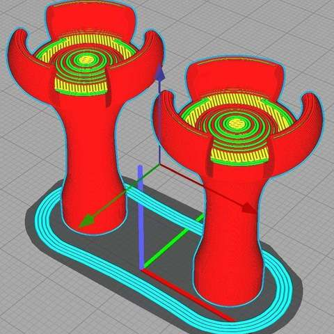 c69c38b4c3910254bbd3e23b910b8fea_display_large.jpg Download free STL file XBOX One stick extender for drone simulators • 3D printable object, alkobua