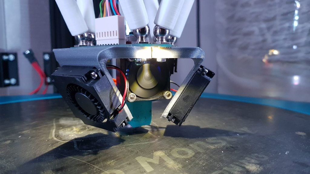 b6aea9e516e0f8032d9bfdae91b21f62_display_large.jpg Download free STL file Duet Smart Effector blower Fan brackets (4010 Fans) • Model to 3D print, alkobua