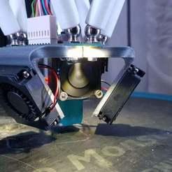 Download free STL file Duet Smart Effector blower Fan brackets (4010 Fans) • Model to 3D print, alkobua