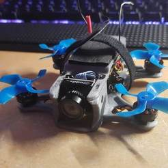 Download free 3D print files BETAFPV 75X 2S Racing Frame, alkobua
