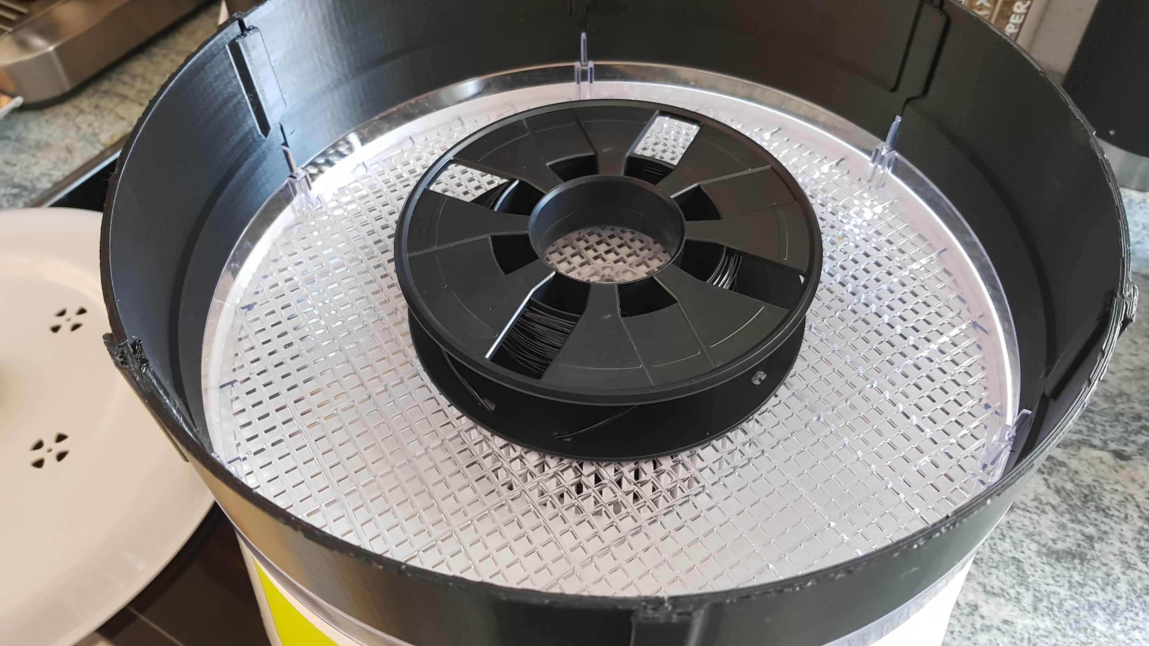 20190929_102508.jpg Download free STL file Filament dryer expansion rings for Model G3Ferrari Conservo • 3D printer design, alkobua