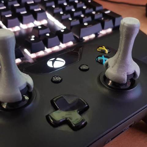 Download free 3D print files XBOX One stick extender for
