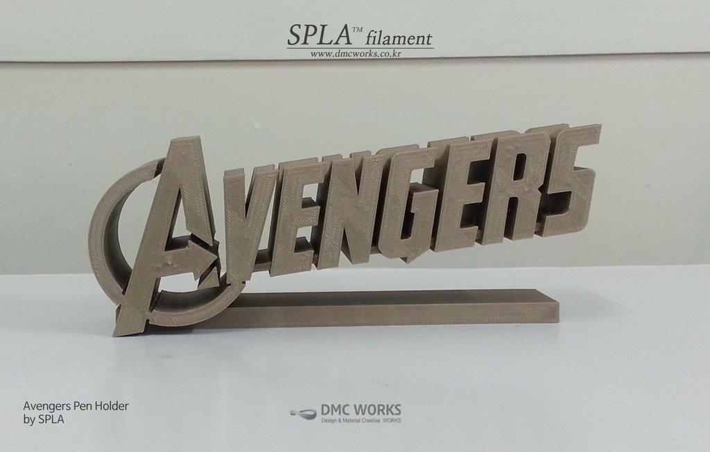 avenger_1_display_large.jpg Télécharger fichier STL gratuit Porte-stylo Avengers • Objet pour imprimante 3D, Dourgurd