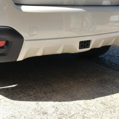 Subaru Crosstrek Hitch >> Download Free 3d Printer Designs Trailer Hitch Cover For