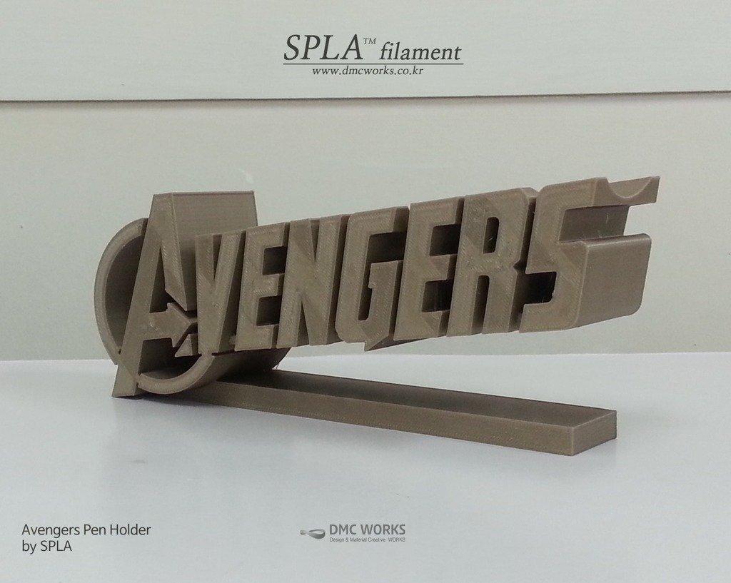 avenger_2_display_large.jpg Télécharger fichier STL gratuit Porte-stylo Avengers • Objet pour imprimante 3D, Dourgurd