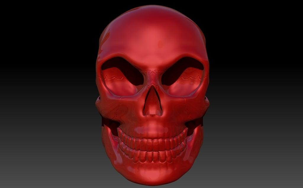Skull5_display_large.jpg Télécharger fichier STL gratuit Crâne • Objet pour imprimante 3D, Dourgurd