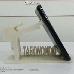 Descargar Modelos 3D para imprimir gratis Soporte para teléfono inteligente - TAEKWONDO, Dourgurd