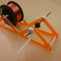 Descargar diseños 3D gratis Soporte para bobinas de alambre magnético, Dourgurd