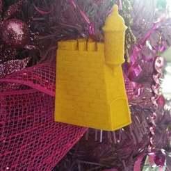 Impresiones 3D gratis La Garita del Castillo San Felipe del Morro Ornamento de navidad, Dourgurd
