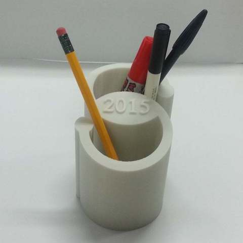 penholder_4_display_large.jpg Download free STL file 2015 Pen Holder • 3D printer model, Dourgurd
