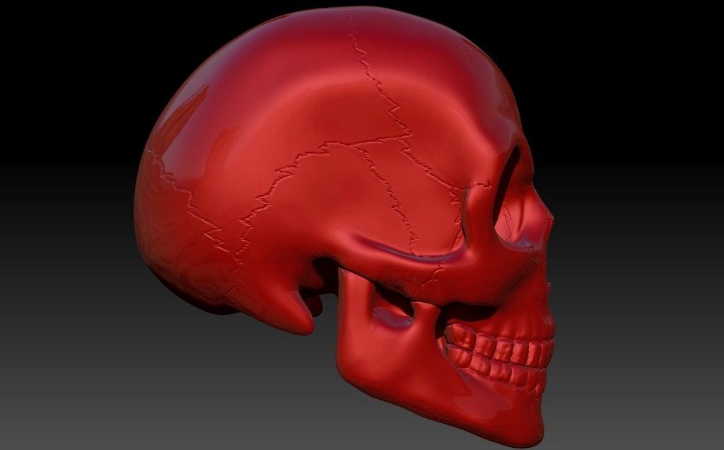 Skull6_display_large.jpg Télécharger fichier STL gratuit Crâne • Objet pour imprimante 3D, Dourgurd