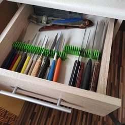 Descargar modelos 3D gratis Soporte/organizador de cuchillos, xip28xip