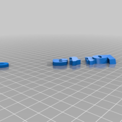 6dc8deac07a1f60d917fb1d39256393a.png Download free STL file My Customized iamburny's  Text - Name Keyring / Keyfob • Design to 3D print, cyrics87