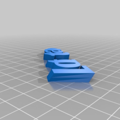 677a4ef71711a8424ea512a848ef89ba.png Download free STL file My Customized iamburny's  Text - Name Keyring / Keyfob • Design to 3D print, cyrics87