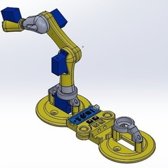Download GCODE file Mini Robot EDUCATION • 3D printing design, februandi
