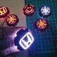 Download free 3D model Emblem led logo, februandi