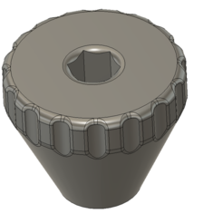 1.PNG Download STL file knurled nut • 3D printing template, Frankthetank