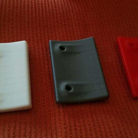 Télécharger fichier imprimante 3D gratuit Poignée de porte pour balcon terrasse boor, Frankthetank