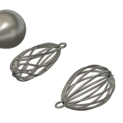 1.PNG Download STL file jewelry experimental • 3D printer object, Frankthetank