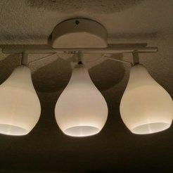 Télécharger fichier imprimante 3D gratuit Abat-jour pour lampe Ikea Lamp Tross, Frankthetank