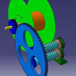 Free 3D printer files Filament Spooler, Frankthetank
