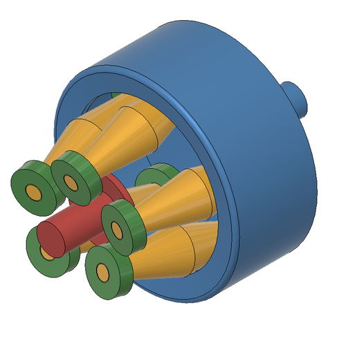 4.PNG Download free STL file stepless transmission variable transmission concept 345 • Design to 3D print, Frankthetank