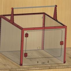 1.PNG Télécharger fichier STL Boîtier Prusa 3d Boîtier de l'imprimante • Modèle pour impression 3D, Frankthetank