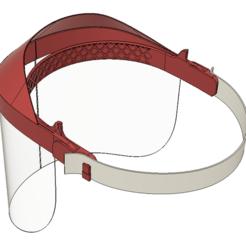 1.PNG Download STL file headshield corona protection • 3D printer object, Frankthetank